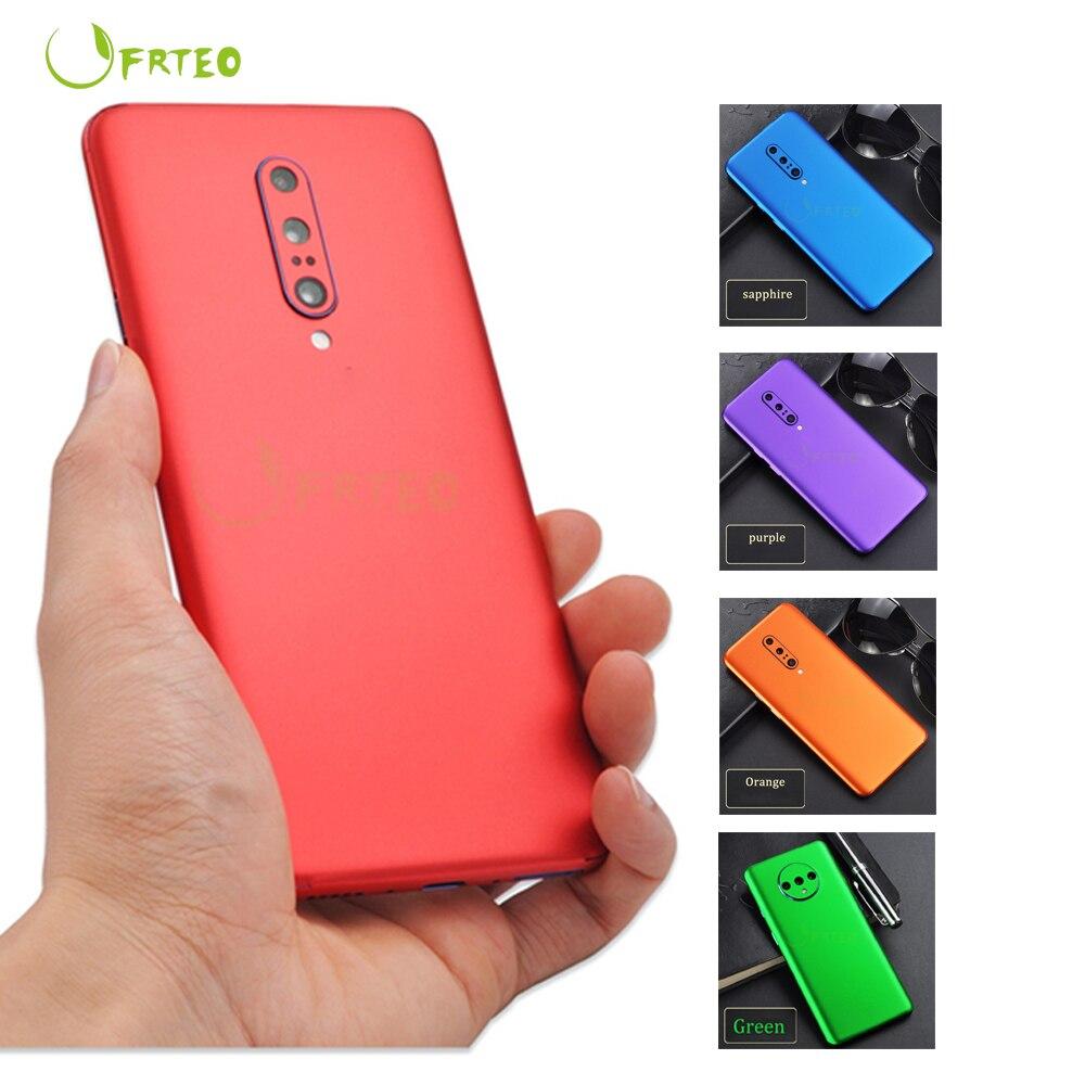 Наклейка на мобильный телефон, наклейка на мобильный телефон для OnePlus 5 5T 6T 7T 7T, защитная пленка из ПВХ для OnePlus 7 Pro 7T Pro, 2020