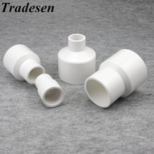Connector Upvc-Pipe-Fittings Reducing Tradesen Tube Water-Pipe Straight 20-50mm I.D 1pcs/Lot