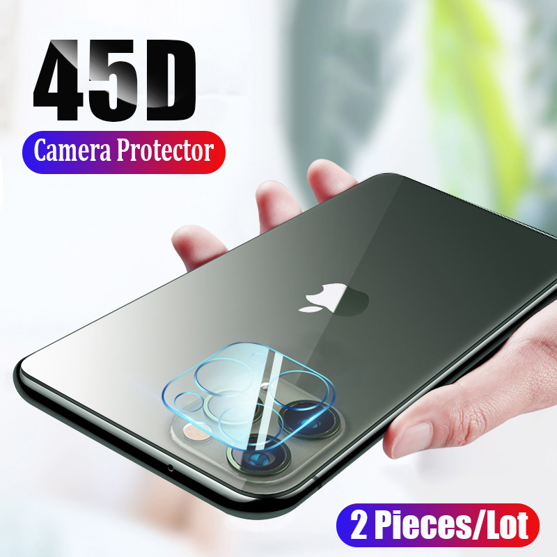2Pieces/Lot Camera Protector For IPhone 11 Pro Max X XR XS MAX Tempered Glass Screen Protector For IPhone 11 Pro Max XR XS Glass