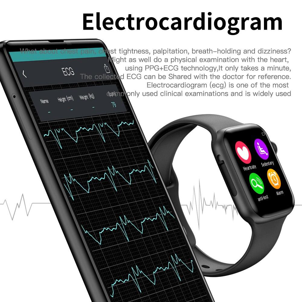 COXANG iwo 8 Lite/ecg ppg smart watch men Heart Rate iwo 9 smartwatch iwo 8 /iwo 10 Smart Watch for women/men 2019 for Apple IOS 3
