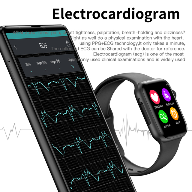 Heart Rate smartwatch for Apple IOS 3