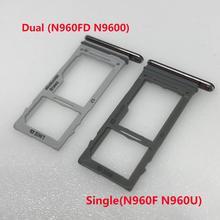 Двойной лоток для sim-карты для samsung Galaxy Note 9 N960 N960F N960FD N960U сменный держатель слота