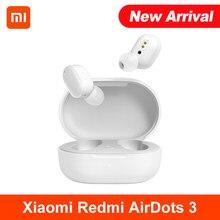 Xiaomi Redmi AirDots 3 słuchawki hybrydowy wokalizm bezprzewodowy Bluetooth 5.2 Mi prawdziwy bezprzewodowy zestaw słuchawkowy jakość dźwięku na poziomie CD