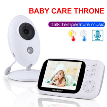 xf808 3.5 inch baby monitor lcd display video intercom ip camera walkie talkie pet monitoring