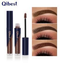Qibest 1PC Waterproof Gel Long Lasting Tint Henna Shade For Natural Brow Enhancer Brand Makeup Cream/ Eyebrow cosmetics