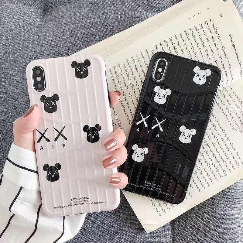 For Iphone 8plus 7plus 8 7 Funny Bear Cellphone Coque 6 for Iphone X XR XS Max Cartoon Bear Silicone TPU Phone Case
