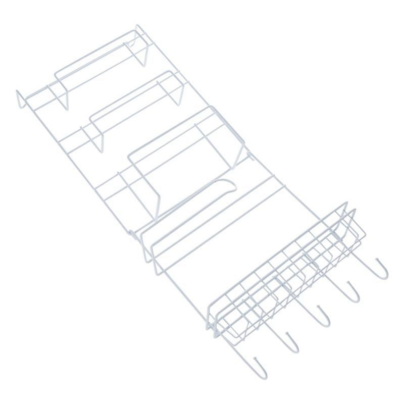 Fridge Hanging Rack Shelf Side Storage Multi-Layer Sidewall Holder Spice Rack Jar Bottle Holder Wall Storage Container For