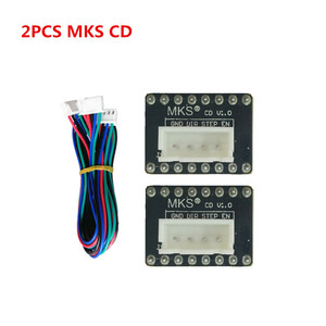 2pcs MKS CD current amplifier for Nema23 stepper driver Nema 23 motor adapter 3d printer accessories extended card expander(China)