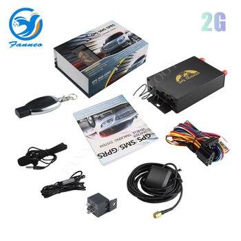 Rastreador gps para coche, dispositivo de seguimiento gps, TK105B, APP tk105, decodificación...