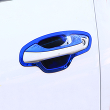 Lsrtw2017 Car Door Handle Trims Door Bowl Panel for Kia Rio X Line Kx Cross K2 Rio 2017 2018 2019 2020 Interior Accessories lsrtw2017 car door interior trims for kia rio 2017 2018 2019 k2