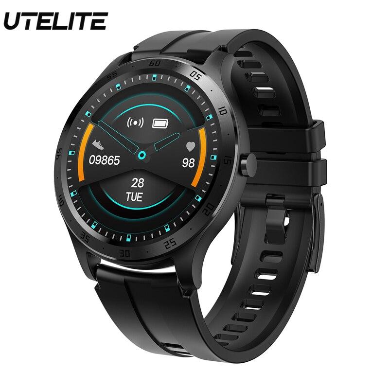 UTELITE Men Women S20 Smart Watch IP67 Waterproof Message Push Sleep Monitor Blood Oxygen Measure Full Touch Screen Smart Band|Smart Watches| |  -