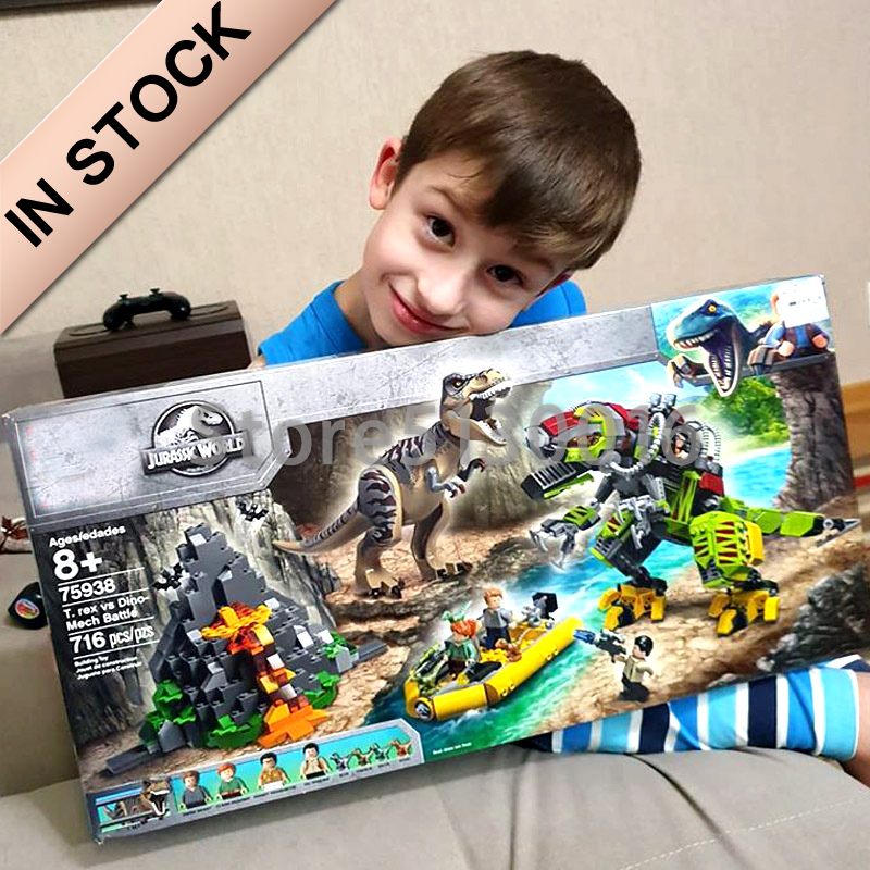 In Stock Jurassic World Park Dinosaur Transport Blocks 75938 10918 10919 10920 10921 19022 19023 10924 10925 10926 10927 10928