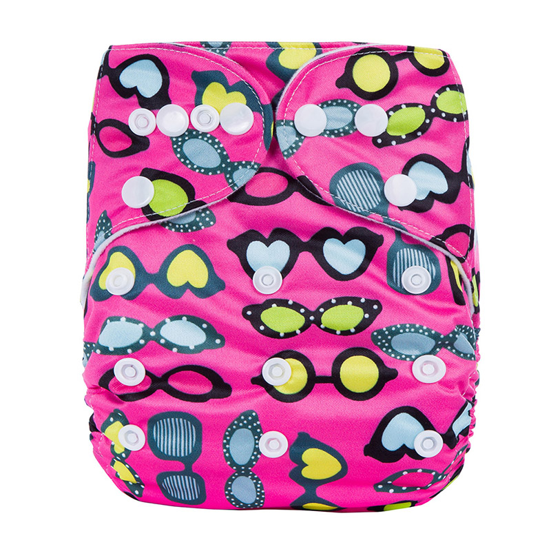 All In One Cloth Diaper Reusable Baby Nappies Breath Excellant Waterproof Teen Cloth Diapers  S2