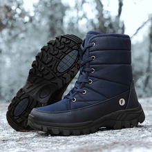 Winter Shoes Snow-Boots Men's Warm QUAOAR Nylon for with Fur