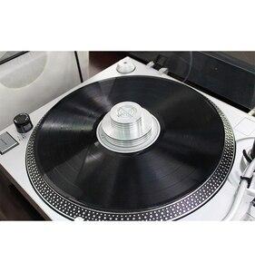 Image 5 - Металлический зажим для записи LP Дисковый стабилизатор баланса измерения вибрации для поворотного стола