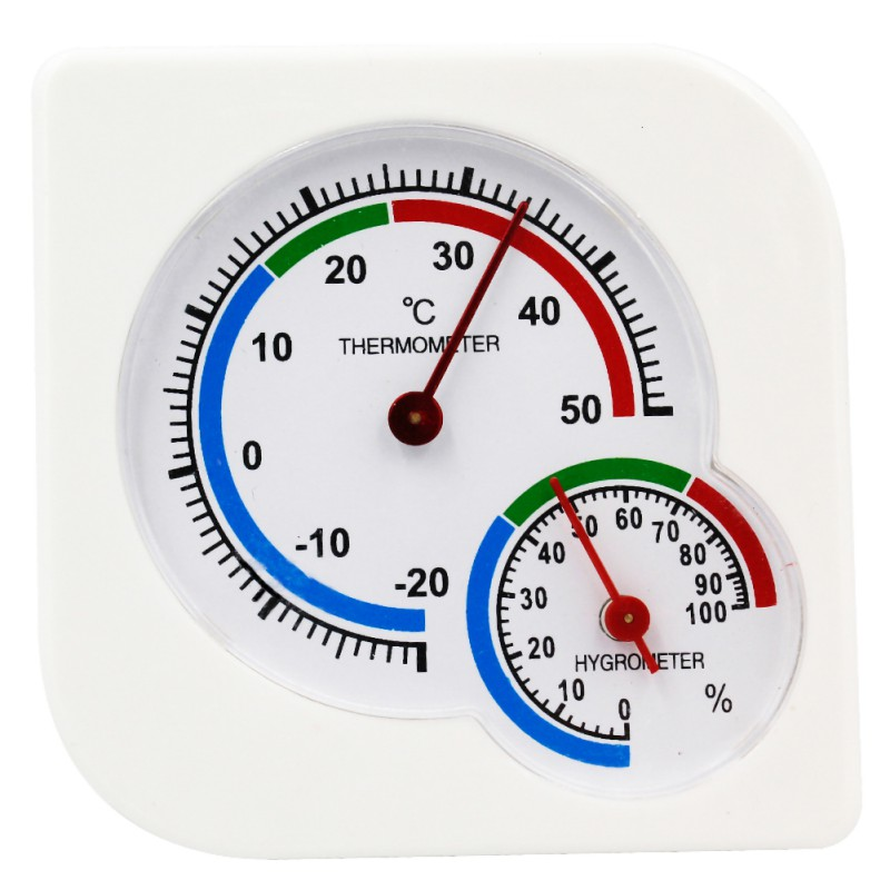 Practical Dial Type Thermometer Hygrometer Easy Reading Temperature Humidity Measure Monitor