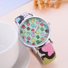 Новые модные роскошные брендовые кварцевые часы с медведем женские