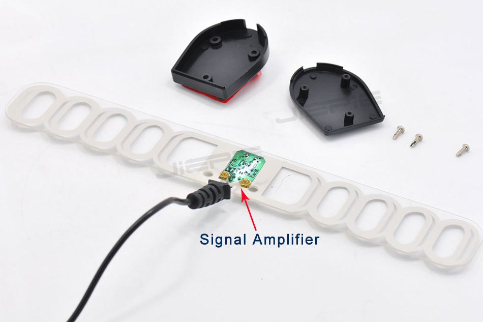 Car Digital TV Antenna Active Antenna Built in 20dB Car DVB Antenna Car DVB receiver antenna with F SMA Connector Amplifier 5M in Aerials from Automobiles Motorcycles