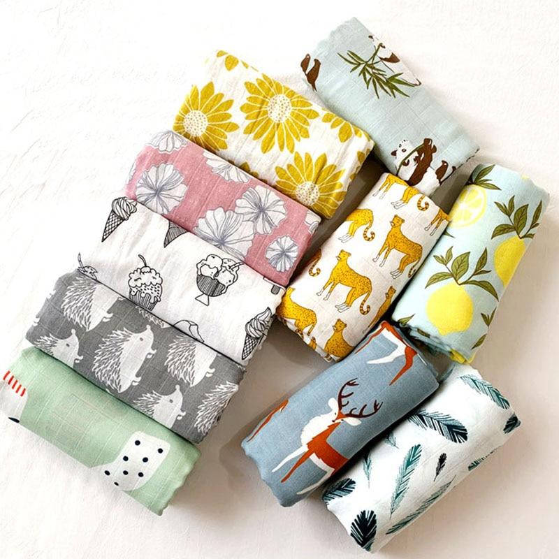 58x58cm Muslin cotton Baby Towels Scarf Swaddle bath Towel Newborns Handkerchief Bathing Feeding Face Washcloth Wipe