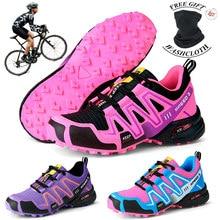 Women leisure MTB Bike Cycling Shoes Men Outdoor Road Bike Shoes Off-road Couple Hiking Shoes Lightweight Jogging shoes 36-48#