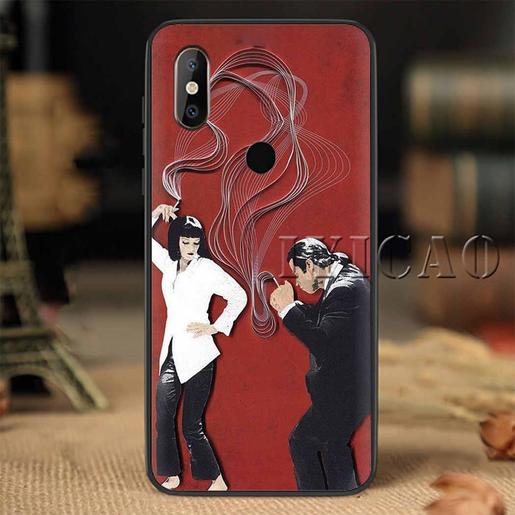 Pulp Fiction Zachte Siliconen Telefoon Case voor Redmi Note 4X5 6 7 8 5 6 7 8 Pro 5A 16G 32G 64G 5A Prime Cover