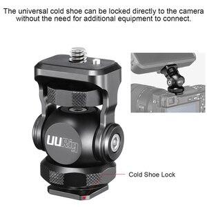 Image 4 - UURig R015 Cold Shoe Monitor Bracket Aluminum 360 Degree Adjustable Mount Bracket for Monitor DSLR Cameras
