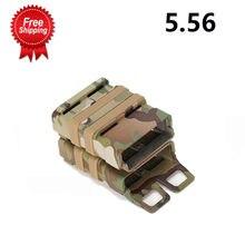 Страйкбольная винтовка 556 mag m4 Журнал быстрое крепление тактическая