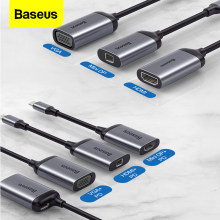 Baseus USB C HUB zu HDMI 4K VGA Mini DP Adapter Typ C Hub Für MacBook Pro Air USB-C HUB Splitter Konverter Für Huawei Matebook(China)