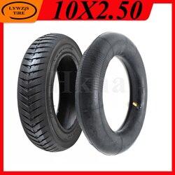 10x2,50 шины 10 дюймов внутренние и внешние шины для электрического скутера баланс автомобиля Передние и задние пневматические шины аксессуары...