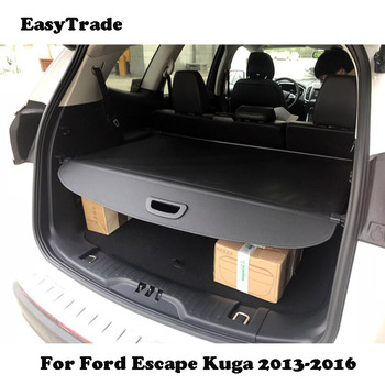 For Ford Escape Kuga 2013 2014 2015 2016 Car Rear Trunk Security Cargo Cover Shield Protective Shade CarStyling Accessories image