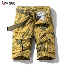 Camouflage Camo Cargo Shorts Men 2020 New Mens Casual
