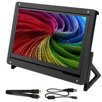 7 Inch Capacitive Press LCD Display for Raspberry Pi 3B/3B+ Screen HDMI Input 1024X600 with Case Stand Holder
