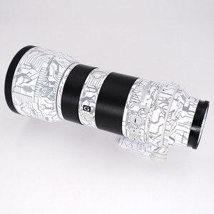 Image 4 - Objektiv Haut Aufkleber Aufkleber Anti scratch Protector Für Sony FE 70 200 2,8 GM Wrap Abdeckung Fall