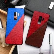 Caso Para Samsung A50 Frabic A40 A70 A10 A20 A30 A60 Caso Silicone S10e S8 S9 Plus Nota 8 9 A9 A7 2018 M10 M20 M30s Hard Cover PC