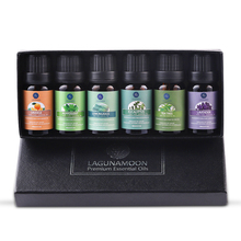 Lagunamoon Pure Essential Oils 10ML 6pcs Gift Set Humidifier
