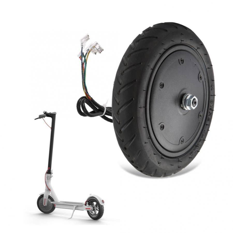 36V 250W Motor Tire Engine Wheel with 9.8 Inch Outer Inflatable Tyre for Xiaomi M365 Electric Scooter Replacement Parts