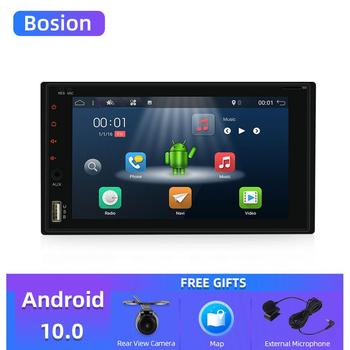 Bosion Android10.0 2 din car radio Bluetooth touch screen AUX IN USB TF 6.2 inch stereo Mirror Link cassette player autoradio image