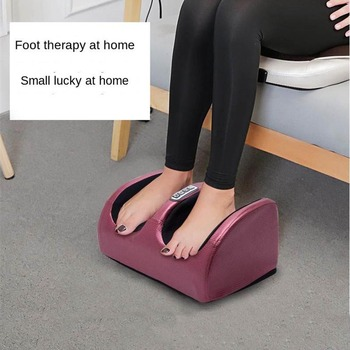 Electric Foot Massager Calf Leg Foot Care Machine Heating Therapy Hot Compress Shiatsu Relieve Fatigue Foot Massage Instrument