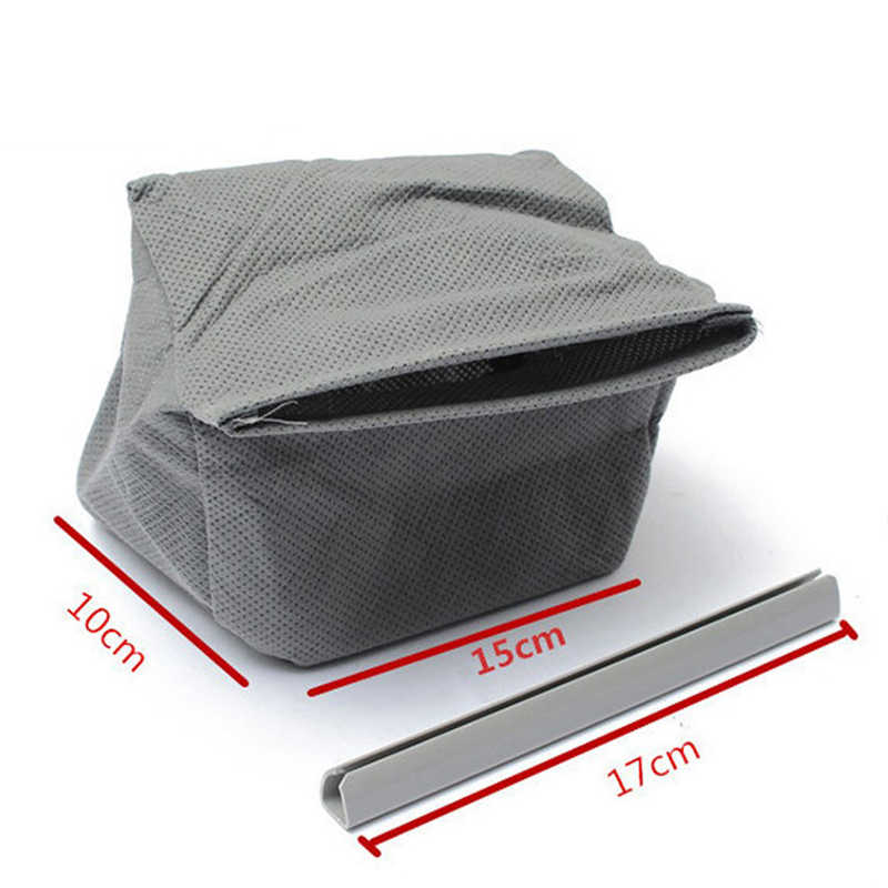1PC רחיץ אוניברסלי שואב אבק בד אבק תיק עבור פיליפס Electrolux LG Haier סמסונג שואב אבק שקית לשימוש חוזר 11x10cm