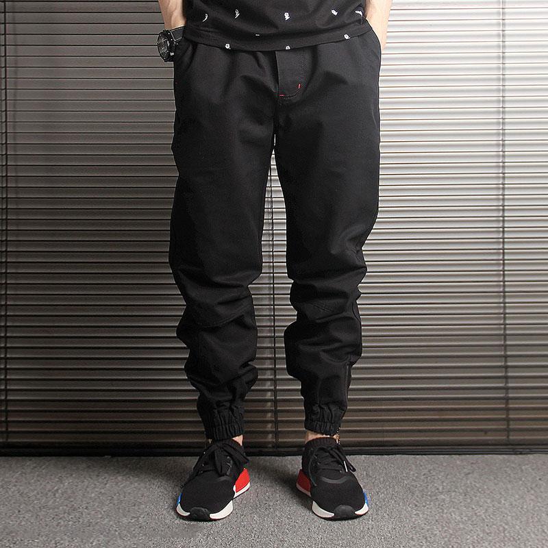 Japanese Fashion Men Jeans Loose Fit Black Camouflage Harem Trousers Cargo Pants Slack Bottom Streetwear Hip Hop Joggers Pants