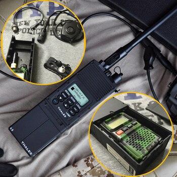 Airsoft PRC-148 Manekin Radio Case 1:1 Brak Funkcji Tactical Softair Walkie-talkie Obudowa Anteny WZ022