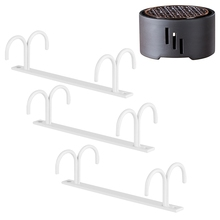 Mug Rack Under Cabinet - Coffee Cup Holder with 1PC Ceramic Candle Stand Tea Heater Tea Stove Milk Warmer Candle Holder