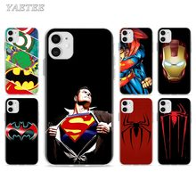 Anime Marvel Avengers logo Phone Case for iPhone 11 Pro 7 8 SE 2020 X XR XS MAX 6 6s Plus 5 5s 7+ 8+ TPU Soft Cover 3d cigarette phone case for iphone 7 creativity soft silicon tpu cover for apple iphone 6s 6 x 8 plus 5 se 5s case 7 plus 6 plus