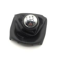 Car Accessories 5 Speed Gear Shift Knob Manual Lever For Peugeot 106 107 206 207 306 406 307 gear knob shift knob Stick Shifter 5 speed car alloy mt gear shift knob for peugeot 106 206 207 306 307 407 408 508 lever shift knob replacement knob gear shift