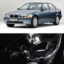 WLJH 13 шт. яркий белый Canbus без ошибок светодиодный внутренний фонарь посылка наборы для 1992-1998 BMW E36 328i 318i 325i