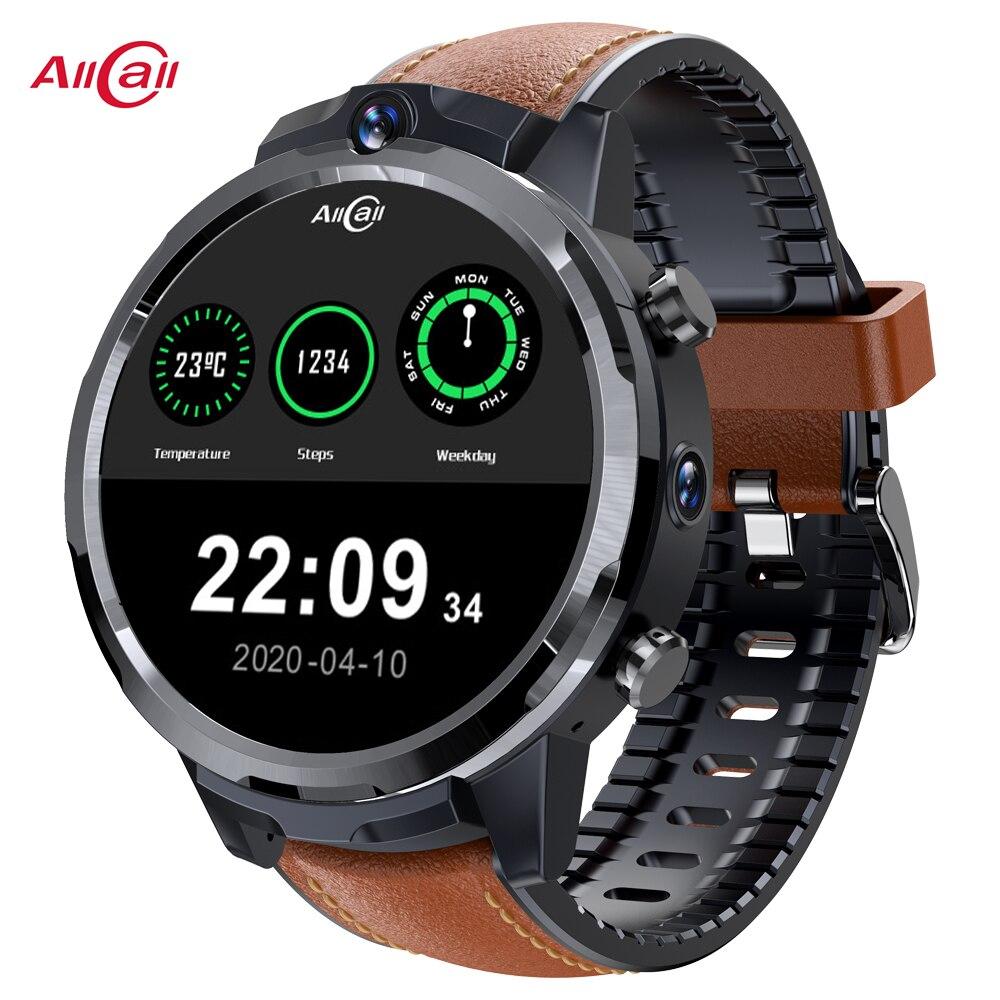 Смарт-часы AllCall Awatch GT2 мужские с GPS-трекером, 4G, SIM-картой, Wi-Fi, водонепроницаемые спортивные Смарт-часы 2020 для Xiaomi, Huawei, Apple