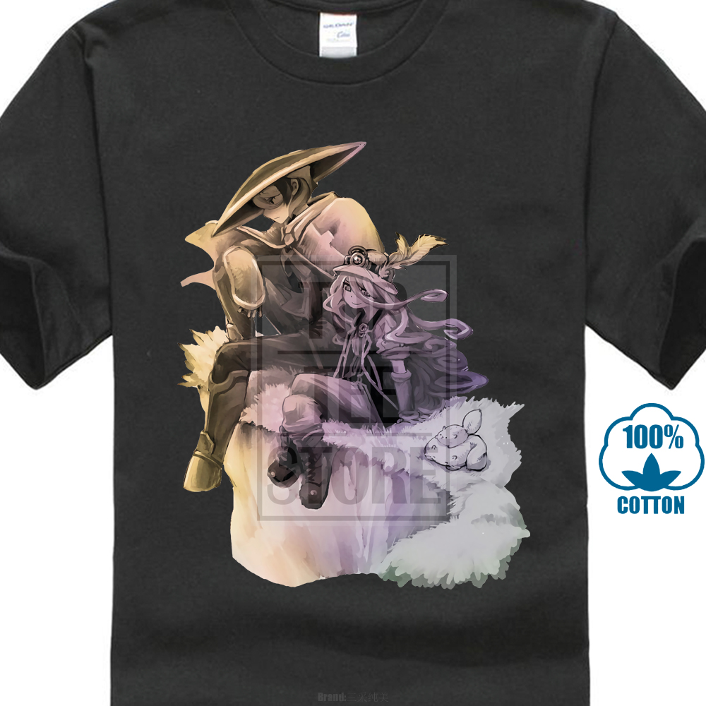 grey t shirt quality woman/'s available Made In Abyss Ozen The Immovable men/'s
