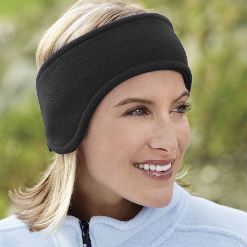New Fshion Unisex Headwear Ear Muff Men Women Winter Cover Head Band Polar Fleece Winter Earmffs