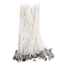 Oil-Wicks Candle-Making Party-Supplies Pure-Cotton-Core DIY 15cm 100pcs with for Pre-Waxed