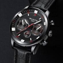 цена Men's fashion sports three-needle decoration luminous calendar analog waterproof men's watch steel belt quartz wrist watch онлайн в 2017 году